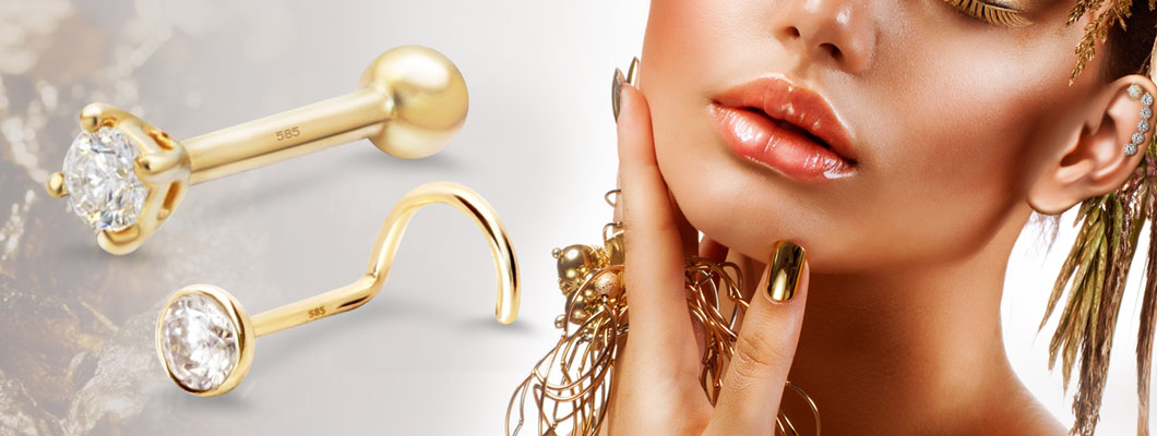 Wholesale Real Gold Body Jewelry