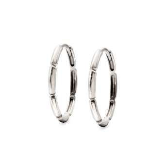 Joint Hoop Earrings