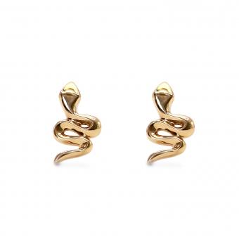Snake Shape Stud Earring