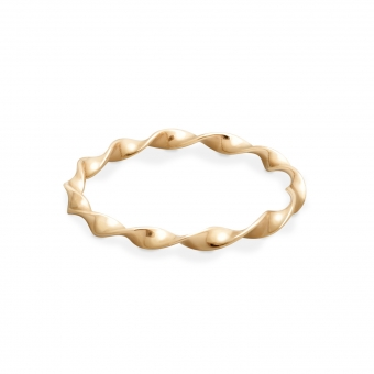 Beautiful Twisted Gold Ring