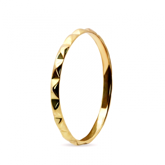 Scaly Surface Gold Ring