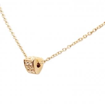 18pcs Gemstones Beautiful Triangle Necklace