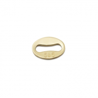 Gold Logo Tag Small