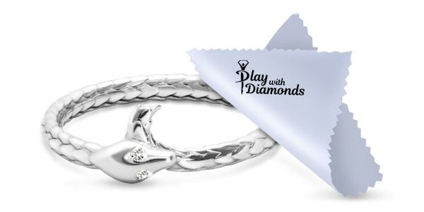 Clean White Gold Jewelry